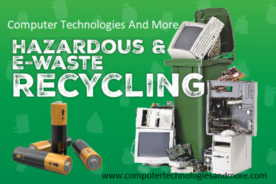 Recycle Old computers, phones and printers get $20.00 of next computer repair.